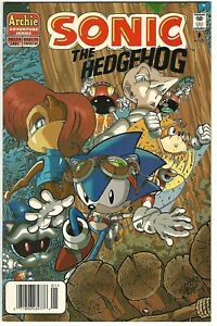 "Sonic the Hedgehog #54 (1998) NM+  Kanterovich - Penders - Manak ""Newsstand"""
