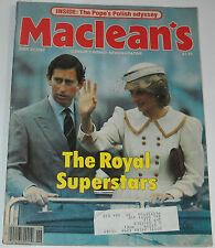 Maclean's Magazine June 27 1983 The Royal Superstars Charles and Diana