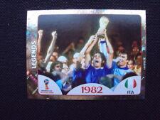 Sticker Panini Coupe du Monde FIFA world cup russia Russie 2018- legends n°674