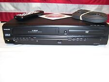 Philco DVD3315V DVD 4 Head VCR Combo Player With Remote, Cables, and Manual