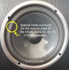 Infinity Delta 40, 60, 70, Kappa 80 (155 mm cone) > 2x foam surrounds RIGHT ONE!