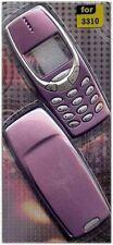 NUOVO!! VIOLA HOUSING / FASCIA / Coperchio / Custodia per Nokia 3310 / 3330