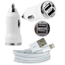 Dual USB Car Charger + USB Data Sync Cable for iPad Air 2 iPad mini 2 3 4 iPad