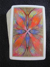 VINTAGE 1960's PACK DECK of FOURNIER PLAYING CARDS - BRIGHT FEATHER DESIGN
