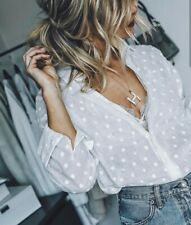 8635fd810 Lunares en Camisas y tops de Mujer | Compra online en eBay