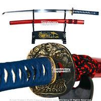 Musashi Handmade Sharp Katana Samurai Sword Heat Treated Carbon Steel Blade