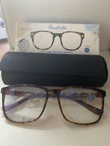 Ocushield Parker Unisex Anti Blue Light Glasses,  Tortoise 0 Magnification