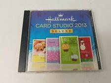 Hallmark Card Studio 2013 Deluxe PC DVD Create Custom Greeting Cards N190