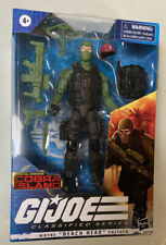 GI Joe Classified Wayne Beach Head Sneeden Cobra Island Target Exclusive