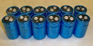 12 pcs, Mallory screw terminal 100uf 350v capacitor