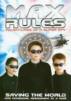 MAX RULES - ADVENTURES OF SUPER SPY (WHITE COVER) (DVD)