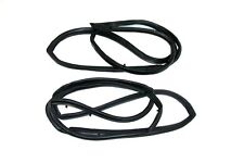 76-86 Classic Jeep (YJ CJ7 CJ8 Scrambler) Rubber Door Weatherstrip Seal PAIR