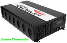 Whistler XP3000i 3000 Watt 3 Outlet Power Inverter w/USB Port Overload Indicator