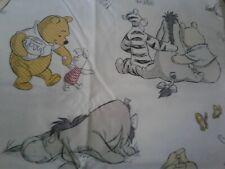 Winnie the Pooh & Friends Fabric Scrap Quilt Sew Craft