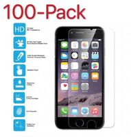 100x Premium Screen Protector Tempered Glass For iPhone 5 6 7 8 Plus Xs XR MAX
