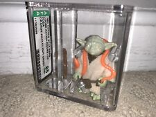 Afa 85 Kenner 1980 Star Wars Loose Yoda Orange Snake/ Light Green Nm+