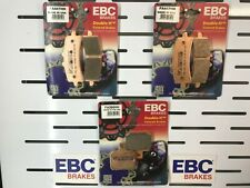DUCATI 1198 BRAKE PADS FULL SET FRONT AND REAR 2009 TO 2011 INC R/S EBC SINTERED