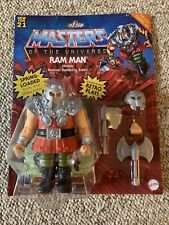 Mattel Masters of the Universe Origins Deluxe Ram-Man Action Figure