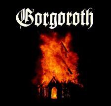 GORGOROTH cd cvr CHURCH FIRE Official SHIRT XXL 2X New Quantos Possunt