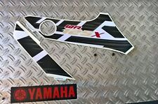 "Yamaha Wr 125 X ""Adhesivo de Depósito Lado Equivocado"" Blanco Original Yamaha"