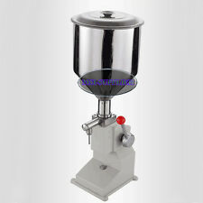 NEW Manual Liquid Filling Machine 0-50ml Liquid Filler For Cream/Shampoo/Juice