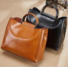 Leisure Genuine Leather Women Ladies Fashion Shoulder Bag Handbag