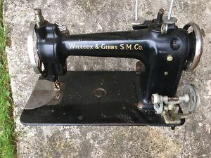 Willcox & Gibbs S.M Co. Antique Sewing Machine