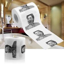 Hillary Clinton Toilet Paper Tissue Roll Funny Prank Joke Gag Gift 2Ply 240Sheet