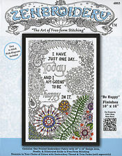 Embroidery Kit ~ Design Works Zenbroidery