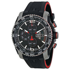 Tissot PRS 516 Black Dial Chronograph Black Rubber Mens Watch T0794272705700