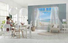 Mural de Pared Foto Wallpaper Malibu Vacaciones Mar Playa 368x254cm Decoración Habitación de Vista