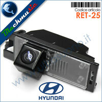 BlackMusic telecamera posteriore Hyundai iX35 - Retrocamera CCD con luce targa