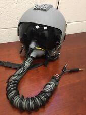USAF Gentex HGU-55/P B-52 Pilot Helmet w/Oxygen Mask and Extras, Size Medium