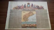 1875 MAPA Provincia de Tarragona, Estanislao Figueras, Cromo Boronat y Satorre