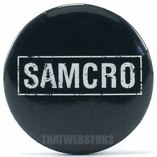 "Sons of Anarchy SAMCRO 1.25"" Button ~ Officially Licensed ~ NEW"