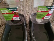 New listing Vibrant Life Gravity Pet Feeder Set for small cats/dogs