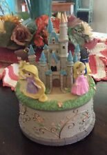 Disney Showcase Precious Moments 164102, Princess Castle,Lighted,Rotating,M usic