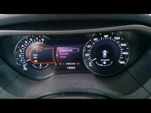 Speedometer Cluster VIN 9 8th Digit Turbo MPH Fits 14 MKZ 2962692