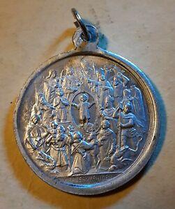 Medal CHRISTIAN PENDANT Fourteen Holy Helpers Vierzehnheiligen - Germany