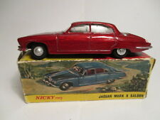 Nicky Toys 142 - JAGUAR MARK X (Mk 10) SALOON in red - VGC, Boxed (Dinky copy)