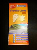 Carte michelin orange 520 region franche comté 2009