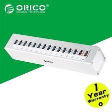 ORICO Aluminum 13 Ports Multi USB3.0 HUB Splitter with 2 Ports Super Charger