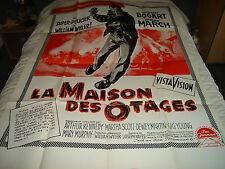 AFFICHE   BOGART / WYLER / LA MAISON DES OTAGES