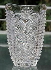 """Fostoria Kristall Vase !!! Signiert """" Fostoria 1992 """" !!! TOP !!!"""