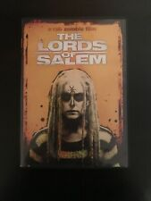 The Lords of Salem DVD 2013 Rob Zombie Sheri Moon Rare Horror Witches Scary