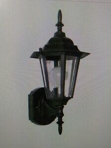 "Maxim Lighting 3000CLBK Black Outdoor Wall Sconce 1 LIGHT, 14"" HIGH(#47"
