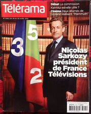 telerama 3145 Sarkozy Mammuth Delépine Kerven Julie Delpy Marivaux