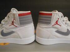 Nike Air Jordan Sky High Sz 10 hi red 2010 lot vintage canvas og ajko rare retro