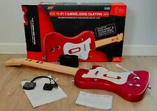 4 en 1 Wireless Guitar Compatible PS2/PS3 + Juego/Game World Tour PS2