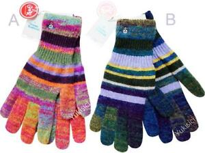 Vivienne Westwood Man Japan Gloves Gradient Stripes Wool Blend Knit-30cm(L)-A /B